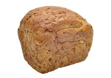 Bread from whole grains Stock Images