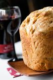 Bread and wine Stock Images