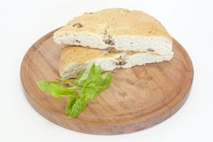 Bread With Pork Skin Stock Image