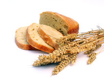 Bread With Wheat Ears Stock Images