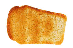 Bread withe toast, isolated Stock Images