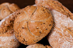 Bread of the woodcutter Stock Photography