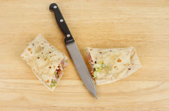 Bread wrap Stock Photo