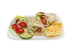 Bread wraps Royalty Free Stock Photography
