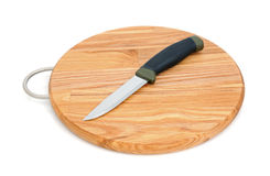 Breadboard and knife Royalty Free Stock Photo