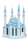 Breadboard model of a mosque Kul Sharif. Russia. Breadboard model of a mosque Kul Sharif separately on a white background Stock Photography