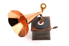 Breadboard model of a record player Royalty Free Stock Photography