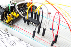 Breadboard Royalty Free Stock Image