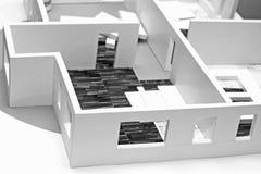 breadboard wnętrza model Zdjęcia Stock