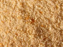 Breadcrumbs. Detail photo of the breadcrumbs background Royalty Free Stock Photos