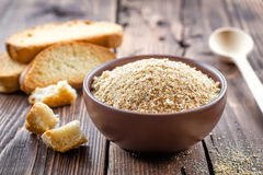 Breadcrumbs Stock Photo