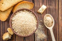 Breadcrumbs Stock Image