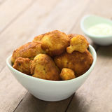 Breaded Cauliflower Stock Photography