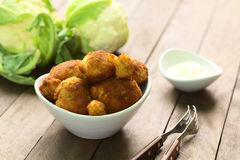 Breaded Cauliflower Royalty Free Stock Image
