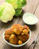 Breaded Cauliflower Stock Image