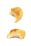 Breaded chicken nugget composition isolated Royalty Free Stock Photo