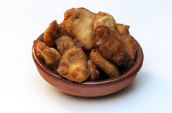 Breaded chicken Stock Images