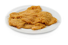 Breaded cutlet Royalty Free Stock Photo