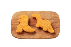 Breaded fish Stock Image