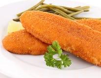 Breaded fish Royalty Free Stock Photos