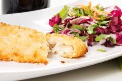 Breaded fish Royalty Free Stock Photo