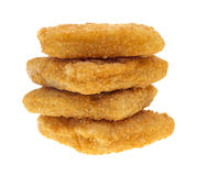 Breaded haddock Royalty Free Stock Photography