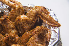 Breaded hot wings Royalty Free Stock Photography
