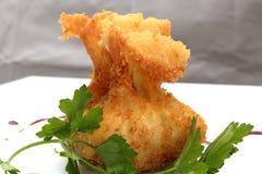 Breaded jedzenie Zdjęcie Royalty Free