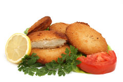 Breaded meat Royalty Free Stock Photos