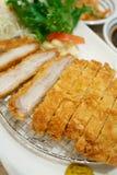 Breaded pork, japanese food style tonkatsu Royalty Free Stock Photos
