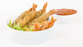 Breaded Prawns Stock Images