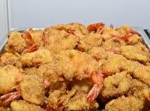 Breaded shrimp Royalty Free Stock Photo