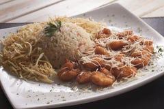 Breaded shrimp Royalty Free Stock Photos