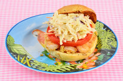 Shrimp Sandwich Royalty Free Stock Images