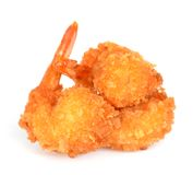Breaded shrimp Stock Images