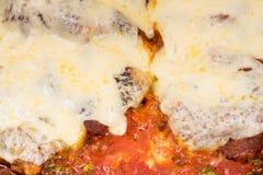 Breaded stek z szachami zdjęcie royalty free