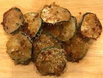 Breaded Zucchini chips Zdjęcie Royalty Free