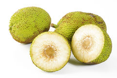 Breadfruit. On a white background Royalty Free Stock Photography