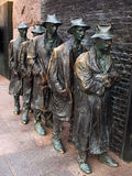 The Breadline by George Segal Royalty Free Stock Photo