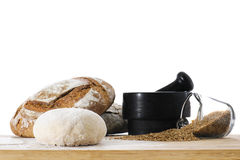 Breadmaking Royalty Free Stock Photo