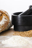 Breadmaking ingredients Stock Photos