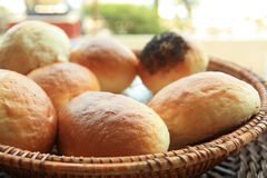 Breads. Photograph of breads at buffet Royalty Free Stock Image