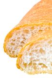 Breads. Italian breads on white background Stock Photography