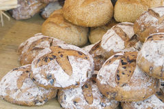 Breads. In a Provencal market in Autumn. (French Riviera Royalty Free Stock Photos
