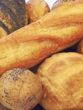 Breads. Beatiful breads Stock Photography