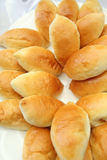 Breads on banquet table. Breads on plate at banquet table Royalty Free Stock Photos
