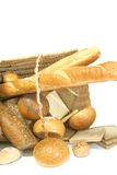 Breads In Basket Stock Images