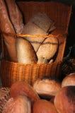 Breads in basket Stock Photo