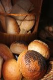 Breads in basket Royalty Free Stock Photo