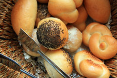Breads at buffet Stock Images
